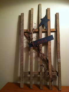Tobacco Stick Gate by 123HometownCreations on Etsy, $25.00