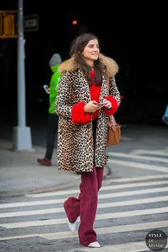 New York Fashion Week Fall 2017 Street Style: Juliana Salazar