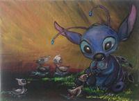 15. Stitch and ducks