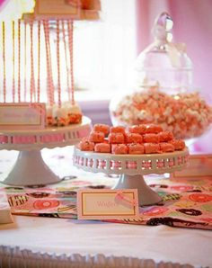 Pink Sprinkle Baby Shower | CatchMyParty.com