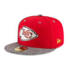 2c43838d9 Men s Kansas City Chiefs New Era Red On Stage 59FIFTY Fitted Hat