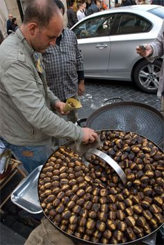 I've never roasted chestnuts. Sang about roasting them, but never actually roasted them. It might be time.