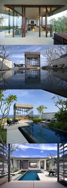 all windows everywhere Alila Villas Uluwatu by WOHA