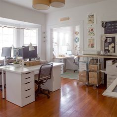 MY HOME TOUR: THE UPDATED OFFICE SPACE + HOW WE USE OUR INTEL TABLET