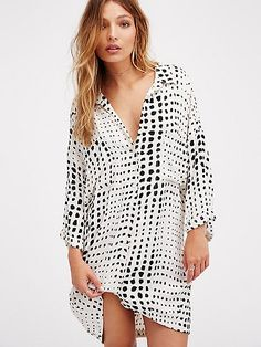 Zulu & Zephyr Stomping Ground Shirt Dress at Free People Clothing Boutique