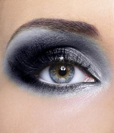 Black and Silver eyeshadow