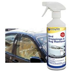 Bird dropping & bug remover Easily remove stuck on bird droppings and dead bugs from your vehicle with the specially formulated cleaner the removes tough, stuck-on messes. Bird droppings are difficult to clean and have corrosive properties that can ruin your car's paint job. This non-streaking, high performance cleaning agent removes bird droppings, insects, tar, tree sap and other stubborn, sticky residues from your car windshield, body, and headlights. 16.9 fl oz. | Taylor Gifts