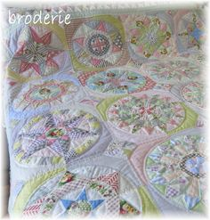 This quilt now being published in Quiltmania magazine starting in issue no 111