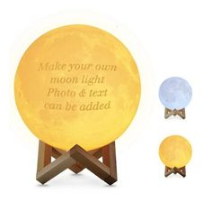 With customized moon lamp, you can keep your love and other happy memories literally illuminated for some long time to come. Bring this enchanting moon to your loved ones' room to let know you'll Love Them To The Moon And Back! With his/her photos engraving on the moon, he/she can now reactable experience the beautiful Customized Gifts For Boyfriend, Valentines Gifts For Boyfriend, Boyfriend Gifts, Valentine Gifts, Bf Gifts, Christmas Gifts For Couples, Gifts For Family, Lamp Light, Light Up