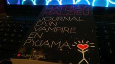 #MardiConseil #MathiasMalzieu #JournalDunVampireEnPyjama @AlbinMichel