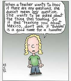 teaching humor | ... is happening to education teachers need to have a good sense of humor