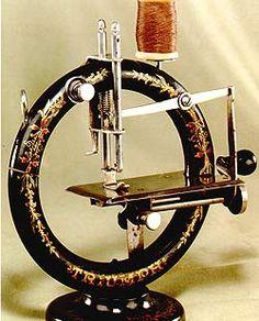 Máquina de coser...