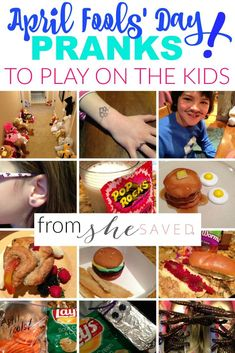 kids april fools pranks Looking for fun ways to Prank the Kids for April Fools Day Here are some of our favorite kid friendly pranks!