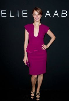 Berenice Bejo in Resort 2012 at the ELIE SAAB Haute Couture Spring Summer 2012 Show.