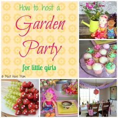 How To Host A Garden Party For Little Girls - Must Have Mom