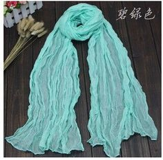 Cheapest Winter American and Europe Women Fashion Solid Cotton Voile Warm Soft Candy Scarf Shawl Cape 20 Colors Available