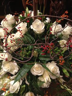 All Saints Day flowers
