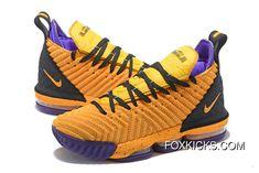 best sneakers 00b3f ba581 Nike LeBron 16 Yellow Women Men Best