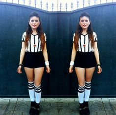 Cutehalloweencostumesforteens sports teen costumes shop all made and put together by me i even got the whistle woo full tutorial on my blog on how to create your own referre costume diy handmade referee solutioingenieria Choice Image