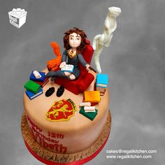 Hermione Granger Patronus Cake | Harry Potter Cake | Cakes by The Regali Kitchen
