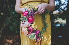 Gorgeous floral wreath/headpiece