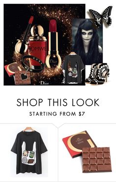 """romwe"" by alibaba-i ❤ liked on Polyvore featuring Sophia Webster"