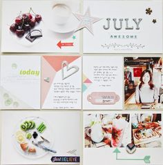 JULY  Project Life : week 2, July