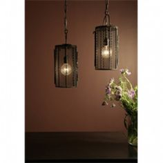 Iron Basket Pendant - Pendants - Lighting