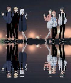 Romantic Anime Couples, Anime Couples Manga, Manga Anime, Friend Anime, Anime Love Couple, New Backgrounds, Manhwa Manga, Anime Art Girl, Anime Comics