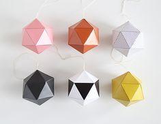 SNUG.STUDIO — SNUG.DECOBALLS DIY set of 6 pendants