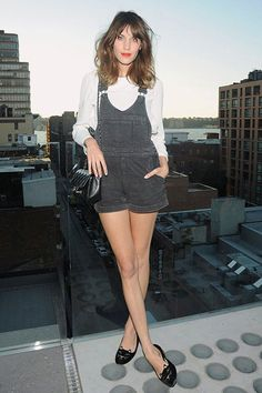 Would never wear it myself but looks really good on Alexa Chung