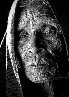 Beautiful old people photography
