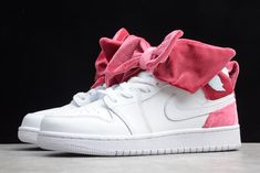Products Descriptions:  2020 WMNS Air Jordan 1 Mid Bow Black Noble Red CK5678-001 For Sale  SIZE AVAILABLE: (Women)US5.5=UK3=EUR36 (Women)US6=UK3.5=EUR36.5 (Women)US6.5=UK4=EUR37.5 (Women)US7=UK4.5=EUR38 (Women)US7.5=UK5=EUR38.5 (Women)US8=UK5.5=EUR39 (Women)US8.5=UK6=EUR40  Tags: Air Jordan 1 GS, Nike Air Jordan 1, Air Jordan 1 GS Model: AIRJORDAN1-CK5678-001 5 Units in Stock Manufactured by: NIKEAIRJORDAN1 Jordans Girls, Jordans For Men, Air Jordans, Jordan Retro 1, Jordan 1 Mid, New Year Deals, Nike Trainers, Nike Air Force Ones, Bow