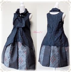 Kimono makeover dress