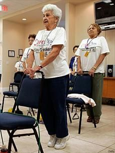 11 Exercise Ideas for Seniors - Senior Health Center - Everyday Health #seniors #caregiver