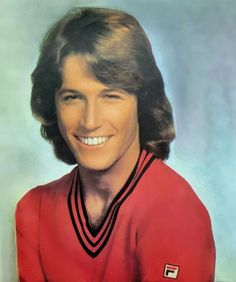 70s Andy Gibb's Feathered Hair - Crush on Andy Gibb - Fila
