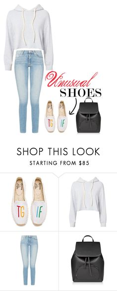 """""""TGIF"""" by herestoteenagememories ❤ liked on Polyvore featuring Soludos and Monrow"""