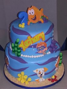Cakery Creation: Bubble Guppies Themed cake by Liz at Cakery Creation. Cakes in Palm Coast