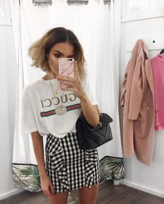 """14.3k Likes, 163 Comments - Alicia Roddy (@lissyroddyy) on Instagram: """"All over slogan and printed tees at the moment, this one is @missyempire & I've linked it in my bio…"""""""