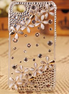 .Phone 4 case iPhone 4s case case for iPhone 4  daisy by EliciaJo, $24.99