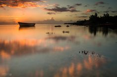 Sunset_Baie du Cap - Sunset at Baie du Cap, a small village situated in the south of Mauritius island.