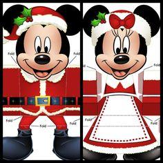 My disney life: minnie and mickey christmas printables craft Disney Christmas Decorations, Mickey Mouse Christmas, Christmas Printables, Christmas Themes, Kids Christmas, Christmas Crafts, Mickey Printables, Xmas, Disney Theme