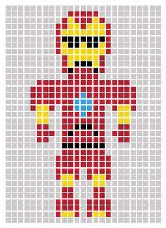 Post-It Avengers templates by unknown artist. More Post-It Avengers templates here. Marvel Images, Pixel Art Super Heros, Iron Man, Post It Art, Image Pixel Art, Minecraft Pixel Art, Minecraft Marvel, Lego Marvel, Modele Pixel Art