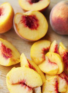 peaches #healthy