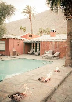 Hotel Indulgences: The Korakia Pensione in the Palm Springs Desert The Places Youll Go, Places To Go, Hotel Am Meer, Outdoor Spaces, Outdoor Living, Living Haus, Gazebos, Escape, Spring Photos