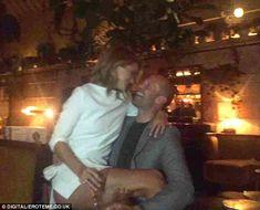 So sweet: Rosie Huntington-Whiteley shared an adorable snap of herself sat on boyfriend Ja...