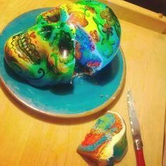Made a cake....
