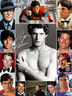 Christopher Reeve Superman, Movie Co, Celebrities Before And After, My Superman, Celebrity Deaths, Romantic Images, Clark Kent, Backstreet Boys, Smallville
