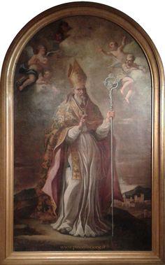 Scuola giordanesca, S. Pardo vescovo (XVII-XVIII sec.).Larino, Cattedrale di San Pardo