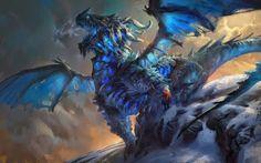 Dragões, monstros e deuses - As incríveis ilustrações de fantasia de Mike Azevedo
